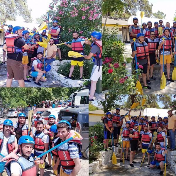 Çiçek Makina Geleneksel Rafting Turu